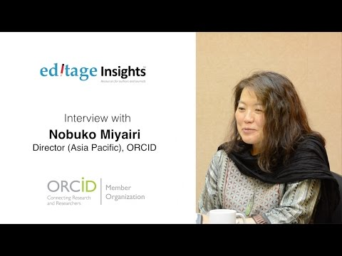 In conversation with Nobuko Miyairi, Asia-Pacific Director, ORCID