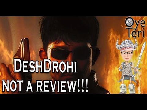 DeshDrohi || KRK|| Not a film review ||