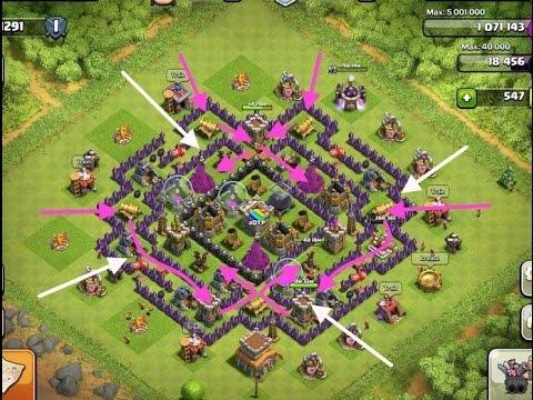 Base Coc Th 8 Anti Serangan Udara 6