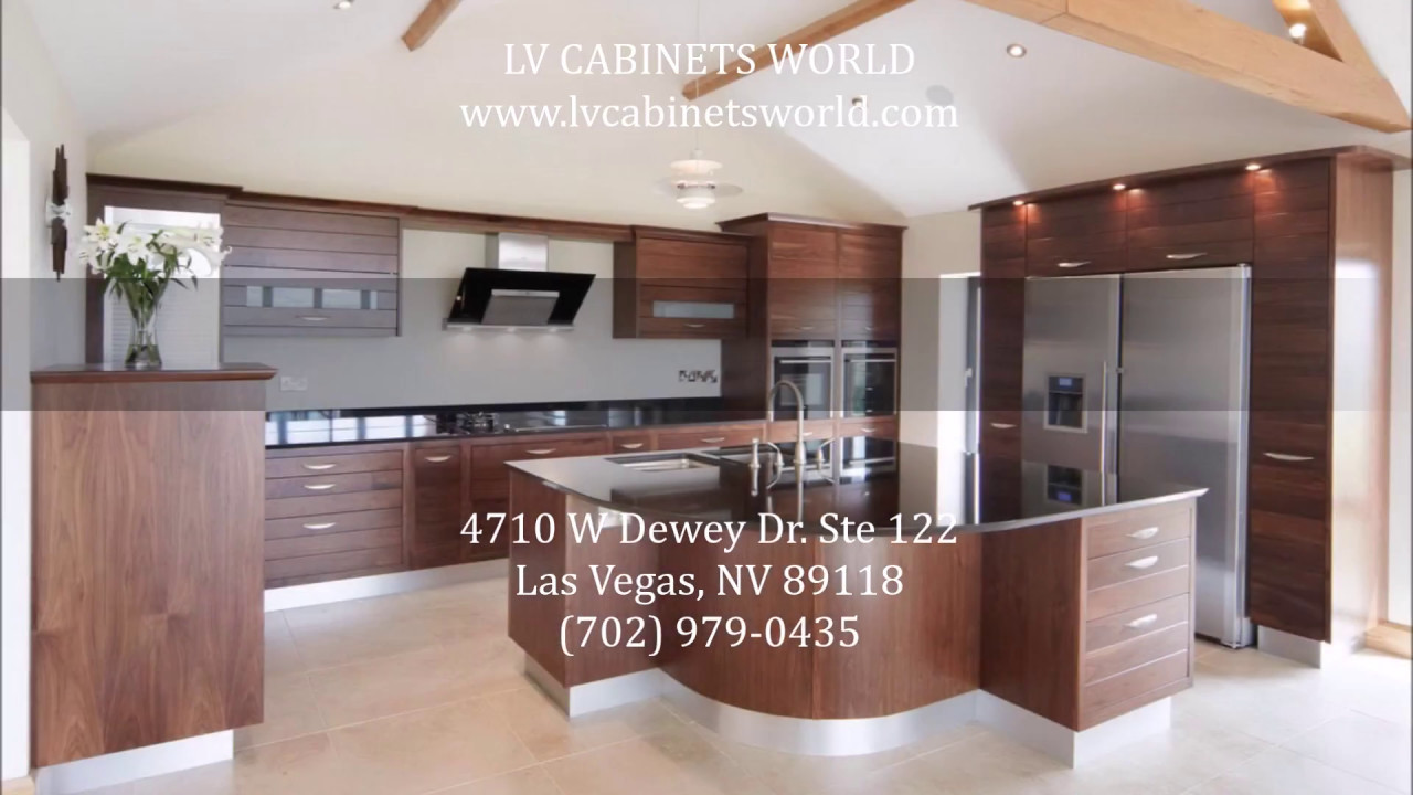 Modern Kitchen Cabinets Las Vegas | LV Cabinets World   (702) 979 0435