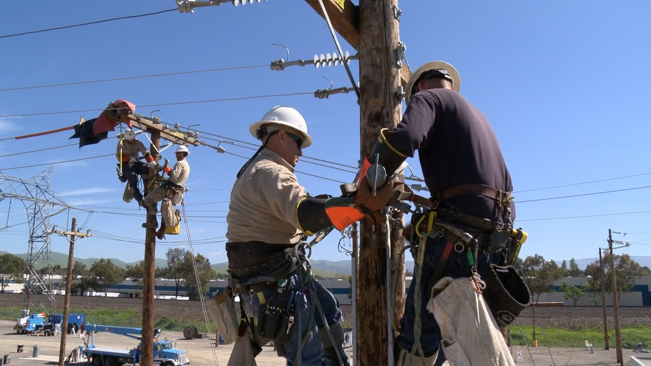 Image result for Line Men and Electrical Power Worker