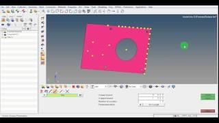HyperMesh Tutorial VIdeo   Create Nodes   Interpolate   Intersect   Geometry Center   GRS  