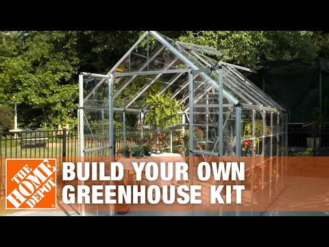 Build Your Own Greenhouse Kit | The Home Depot - YouTube