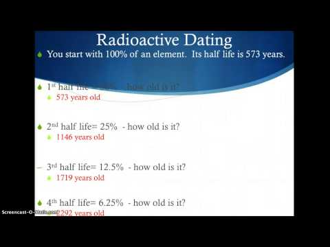 Radioactive Dating Game instructions from YouTube · Duration:  5 minutes 17 seconds