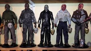 Friday the 13 jason voorhees 12 inch full collection 1:6