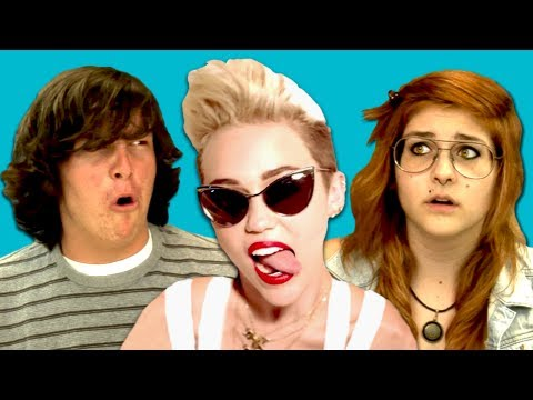 Teens React to Miley Cyrus  We Cant Stop