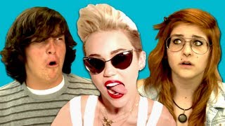 Repeat youtube video Teens React to Miley Cyrus - We Can't Stop