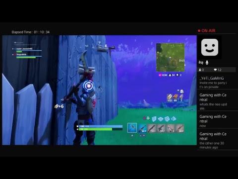 Fortnite New Update Live Stream Jed King Yeti Sloth Youtube