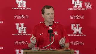 Major Applewhite Weekly Press Conference (10.15.18)