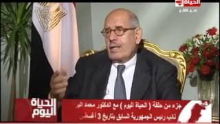 تامر أمين يكذب البرادعي بحديث سابق .. فيديو