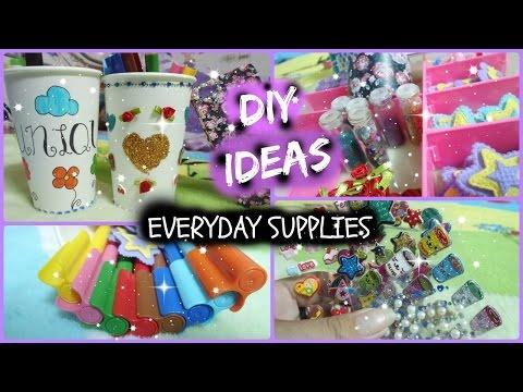 3 DIY Ideas! (Everyday Supplies)