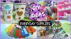3 DIY Ideas! (Everyday Supplies)