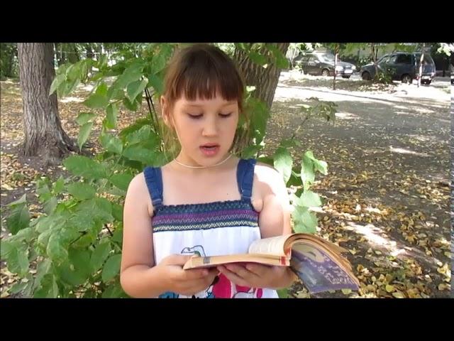 Изображение предпросмотра прочтения – ЕлизаветаДенисова читает произведение «Ясно утро. Тихо веет...» (Никитин Иван)