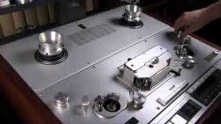 Studer A820 transport change to 1/2 inch