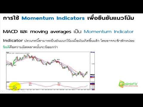 สอนเทรด Forex ฟรี -  การใช้  Momentum เพื่อยืนยันแนวโน้ม | LINE : @GOLINKFX