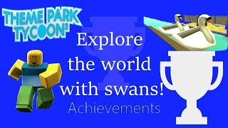 Theme Park Tycoon 2 Explore the world with swans!
