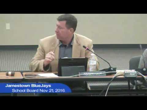 Jamestown Public Schools Board