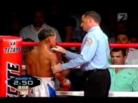 """Hernan """"Tyson"""" Marquez Vs Luis """"El Nica"""" Concepcion Round 10"""