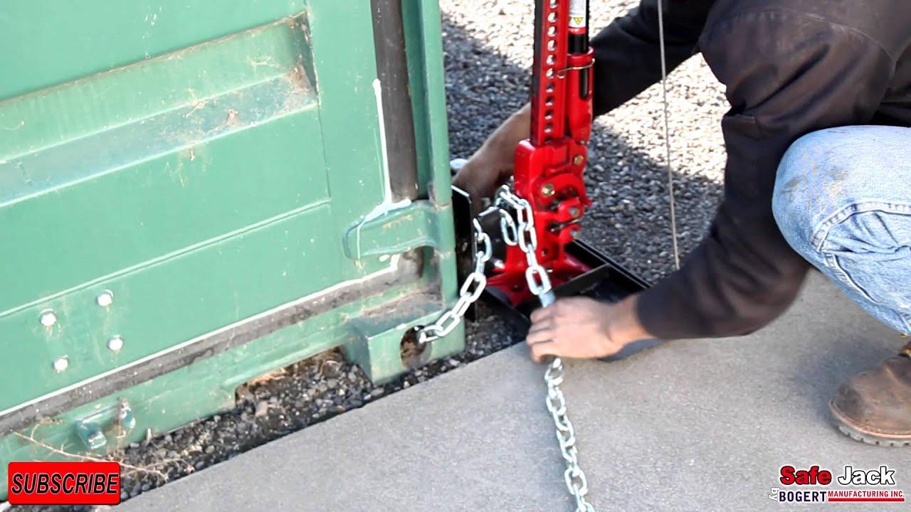 Safe Jack Secure Lifter Lift Your Load Safer Youtube