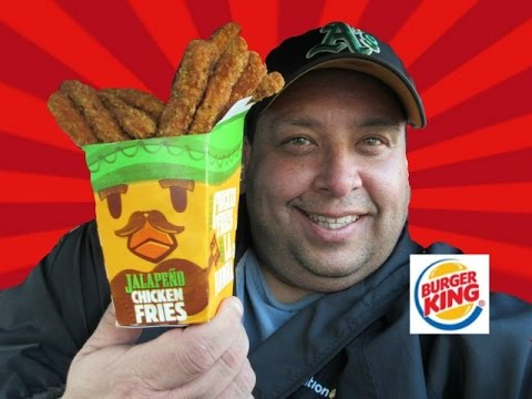 BURGER KINGRNew Jalapeno Chicken Fries REVIEW