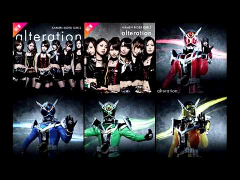 Kamen Rider Girls - Alteration