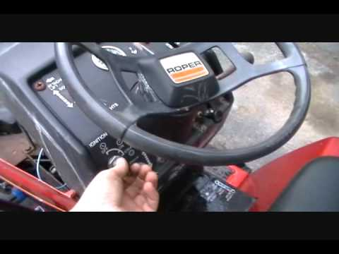 roper lawn tractor youtube lawn mower switch wiring diagram roper lawn tractor