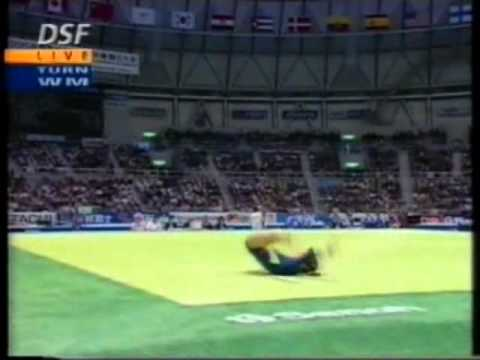 14th T ITA Elisa Lamperti FX   1995 World Gymnastics Championships 9 450