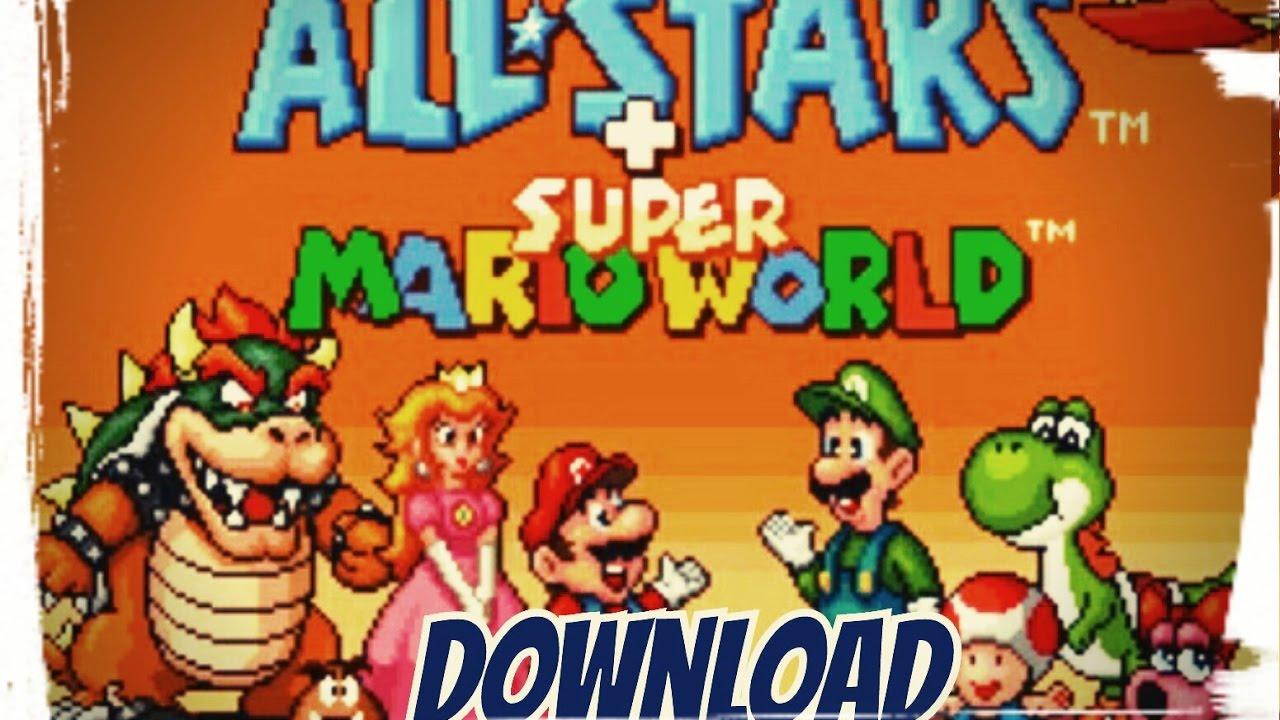 Let's Download Super Mario Allstars + Super Mario World on ANDROID!!!