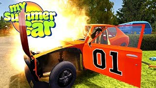 MY SUMMER CAR BATTERY EXPLOSION! Wiring Complete! - My Summer Car Gameplay Highlights Ep 99