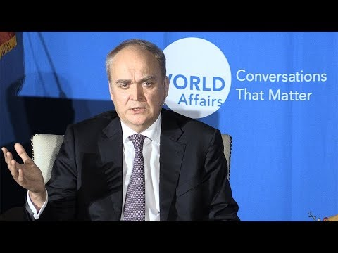 Remarks by His Excellency Anatoly Antonov, Russian Ambassador to the US