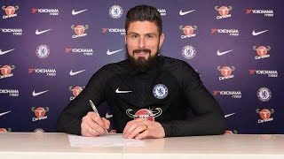Olivier Giroud Signs For Chelsea In £15m Done Deal From Arsenal
