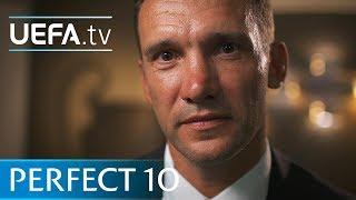 Andriy Shevchenko picks his ideal number 10