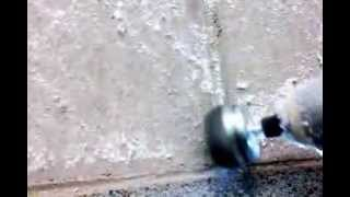 How to remove fiberglass insulation from a wall