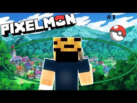 LÀNG POKEMON ✔( Minecraft Pixelmon 5.0.2 ) #1
