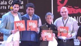 Sidharth Malhotra Inauguration The Kala Ghoda Arts Festival 2016