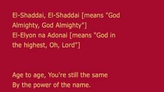 El Shaddai   English Translation Amy Grant