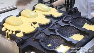 Taiyaki maker machine fish waffle maker