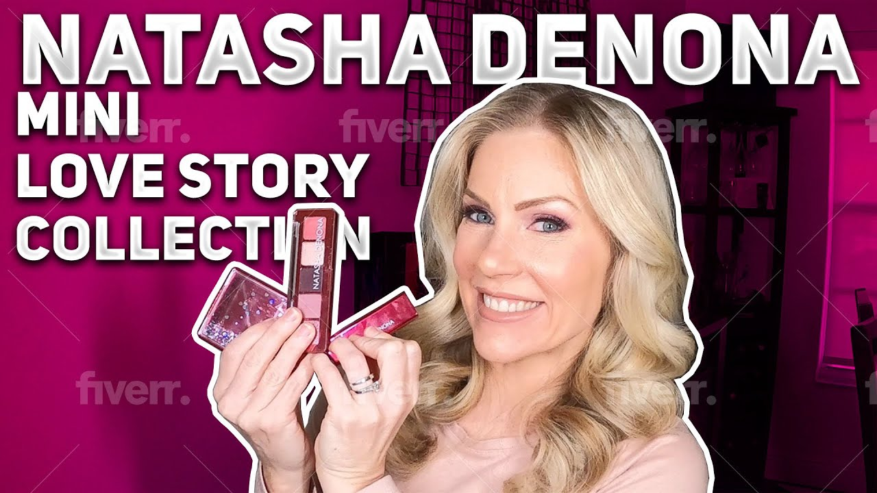 Natasha Denona Mini Love Story Full Collection First Impression, Review, Swatches & Comparisons