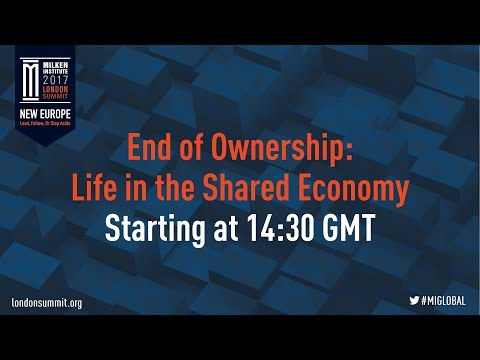 End of Ownership: Life in the Shared Economy