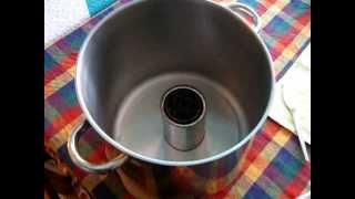 DIY Alcohohl stove Heizen mit Spiritus
