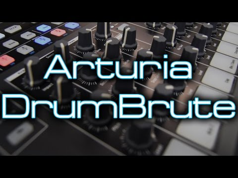 Arturia DrumBrute - Q&A and Distortion Jam