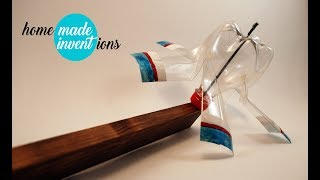How to make windmill blades from plastic bottles - homemade inventions