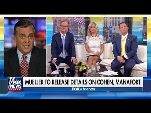 Turley: Michael Cohen's Request for Leniency 'Borders on Lunacy'