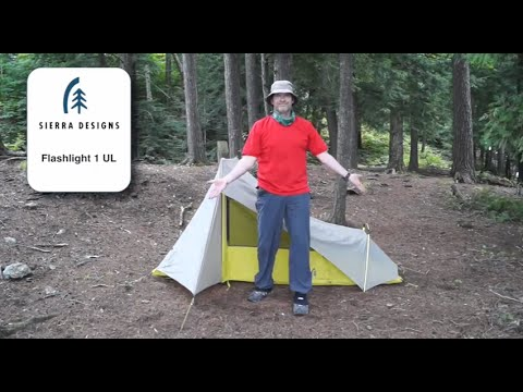 Sierra Designs Flashlight 1 UL - Pitched in 20 Seconds : sierra designs 1 person tent - memphite.com