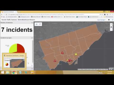 Developing Custom Extensions In Operations Dashboard For ArcGIS