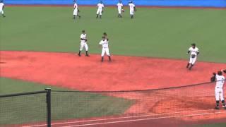高松商業高校 シートノック(第46回 明治神宮野球大会_151115)