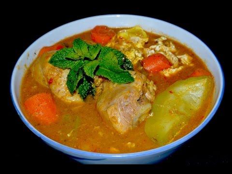 Sopa maggi de pollo con vegetales