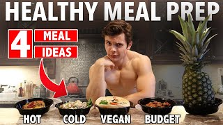 4 Healthy MEAL PREP Ideas | Vegan & Budget Friendly Meal options