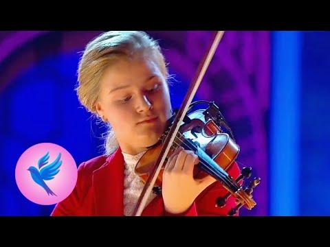 """Софья Колтакова, А. Вивальди, концерт №4 фа минор """"Зима"""" из цикла """"Времена года"""", часть 1"""