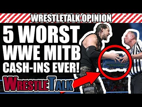 5 WORST WWE Money In The Bank Cash-Ins...